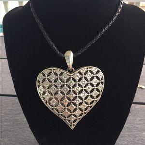 Brighton Accessories - Brighton leather cord necklace